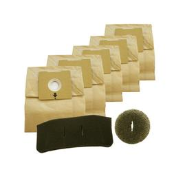Bissell 1480, 4122 Zing Canister Vacuum 5 Bags 2 Filters Acc