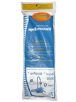 175 Royal Type Q Allergy Vacuum Bags + Filter, AirPro Ry 200
