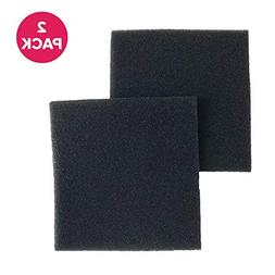 Crucial Vacuum 2 Double Layer Allergen Foam Filters; Fits Ke