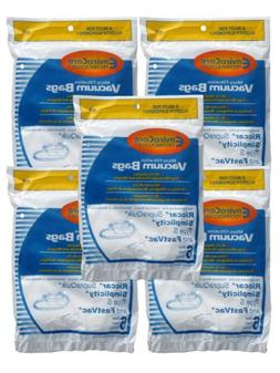 30 Allergen Bags for Riccar, Simplicity Type S, Eureka W, Fa