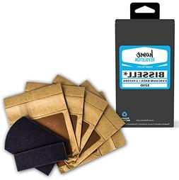 5 Zing Bags & 2 Filters for Bissell 3210 Canister Vacuums 71