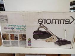 600 series bagged canister vacuum w pet