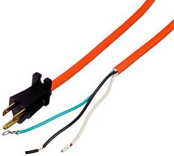 Hoover 91001025 Cord, 50' Orange 18/3 with Grommet Conquest