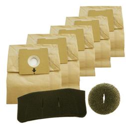Bissell 5 Filter Kit for 4122 Zing Bagged Canister, 1480 Vac