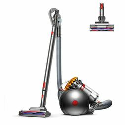 Dyson - Big Ball Bagless Canister Vacuum - Yellow/iron