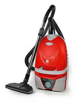 Lindhaus Aria Red Multifuntion Canister Vacuum Cleaner with