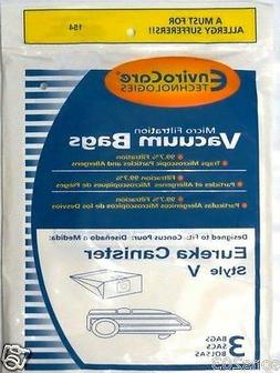 Type V Eureka Vacuum Cleaner Replacement Bag (10pa