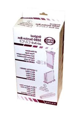 Sebo Airbelt C2.1 Canister Vacuum Cleaner Service Box