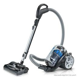 Bagless Canister Vacuum Cleaner With 2-Stage HEPA Filtration