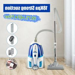 bagless canister vacuum portable cyclonic corded vacuum