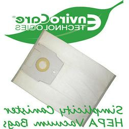 Simplicity Canister HEPA Vacuum Bags *Type H  Fits Full Size