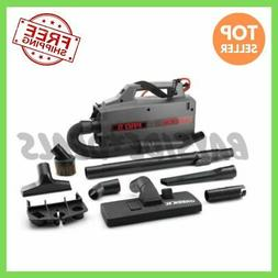 Canister Vacuum XL Cleaner Handheld Attachments Super Black