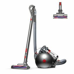 Dyson Cinetic Big Ball Animal Canister Vacuum   Nickel/Red  
