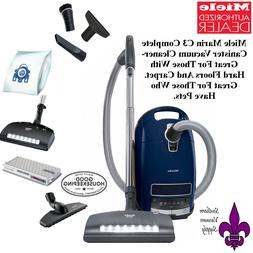 Miele Complete C3 Marin Canister Vacuum Cleaner- GREAT FOR P