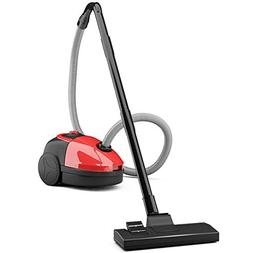 COSTWAY Cyclonic Canister Vacuum Rewind Corded Powerful Vacu