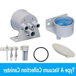 dental type a vacuum collection canister lid