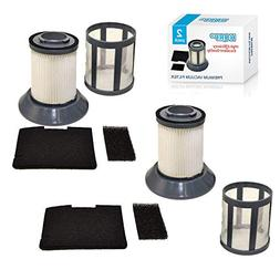 HQRP 2-Pack Dirt Cup Filter for Bissell Zing 2031532/203-153
