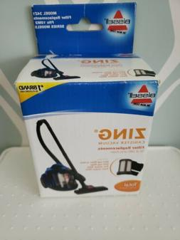Bissell Dirt Cup Filter Screen Replace Zing Bagless Canister