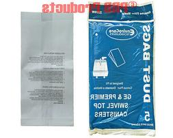 GE Swivel Top Canister Vacuum Allergy Bags Part #1400ES Mode