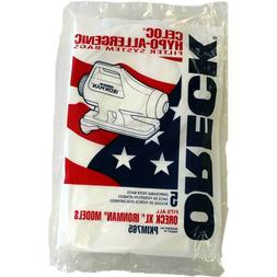 Genuine Oreck XL Ironman Vacuum Bags No. PKIM765 Package of