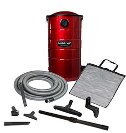 VacuMaid GV30R Wall Mounted Garage and Car Vacuum with 30 ft