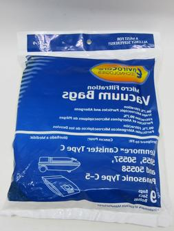 EnviroCare Kenmore Type C Canister Vacuum Bags 5055, 50557 a