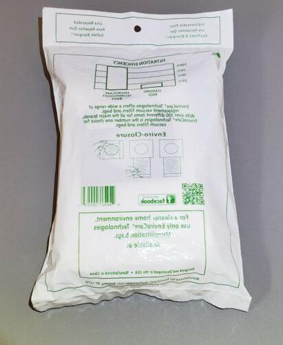 3 Kenmore Style & 50558, 50557, 5055 Canister Allergen Vacuum Bags