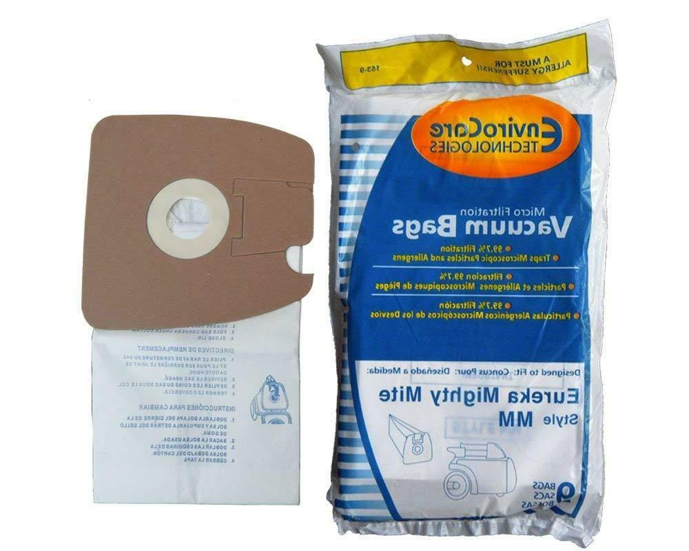 9 micro filtration vacuum bags for mm