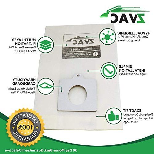 ZVac Bags Replacement for Kenmore Ultra Care Replaces Fits Models 20-50410, 29459,