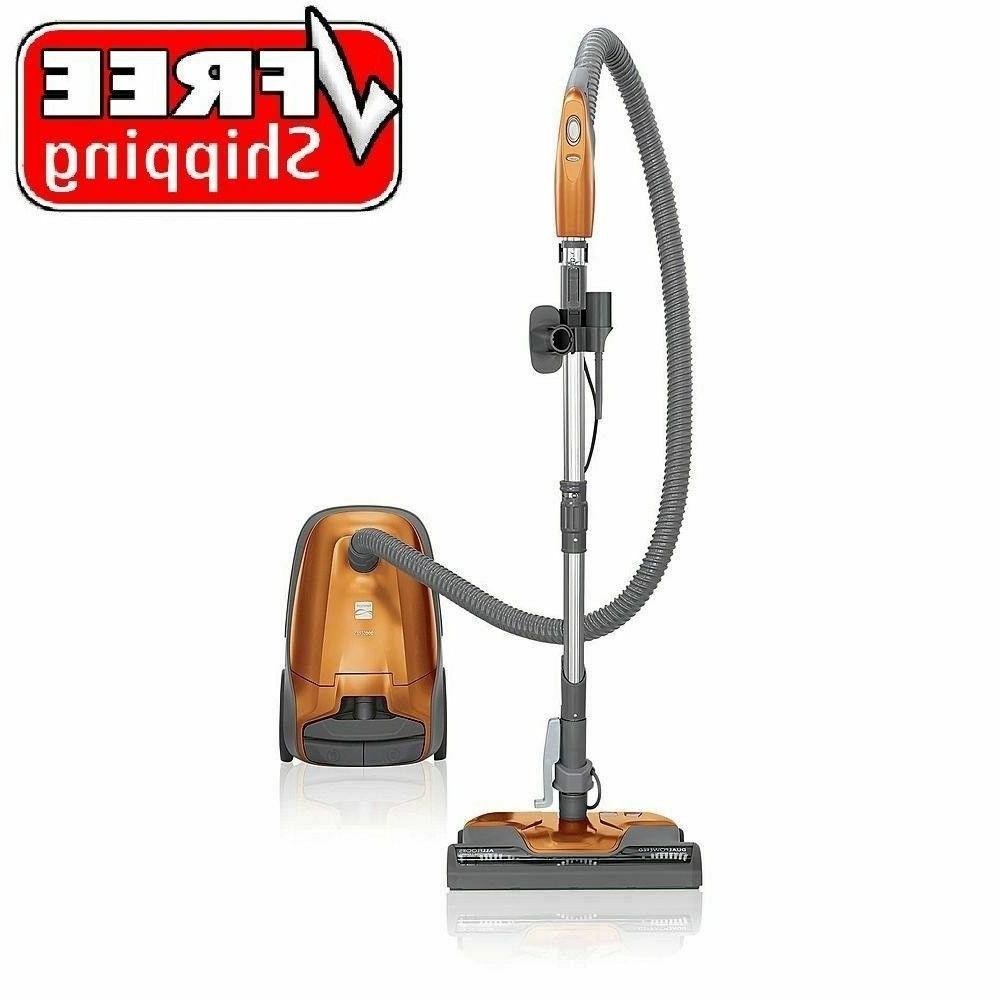 bagged compact canister vacuum cleaner for carpet