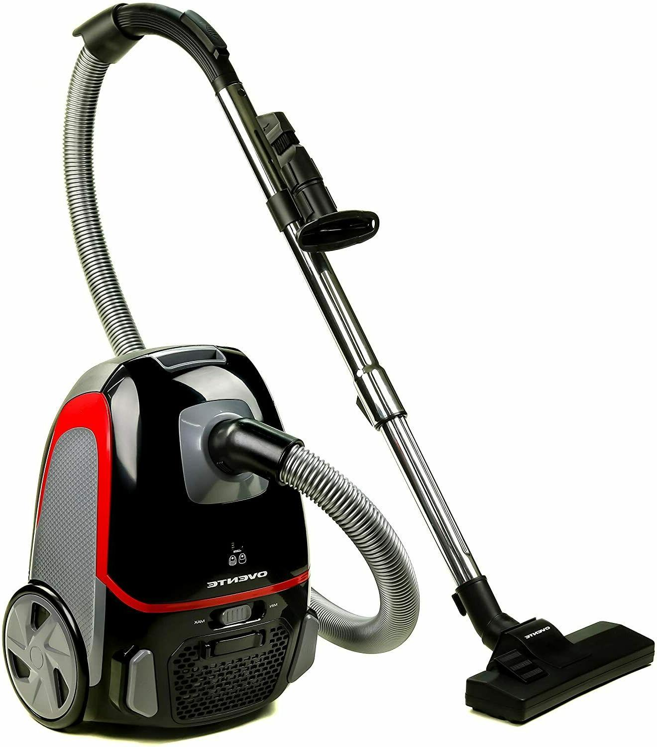 bagless canister vacuum 3 stage filtration