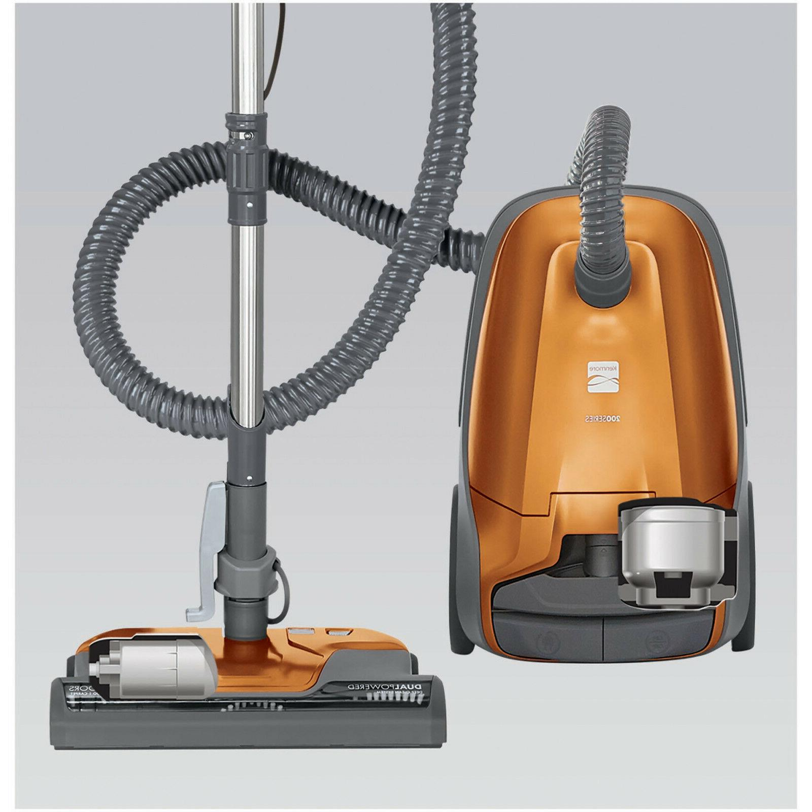 Kenmore Canister Cleaner 81214 200 Series Orange Shipping