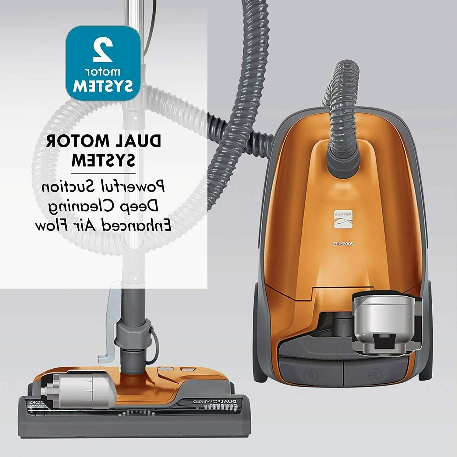 new 81214 200 series bagged canister vacuum