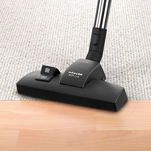 Miele Complete Hard Floor Canister Vacuum Cleaner with Combination and Floor SBB400-3 Parquet Twister Floor