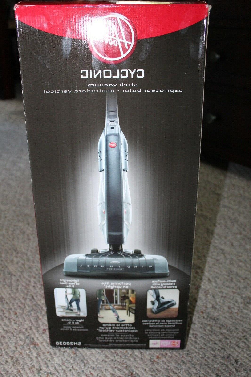 Hoover Corded Bagless Cyclonic Stick Vacuum, SH20030