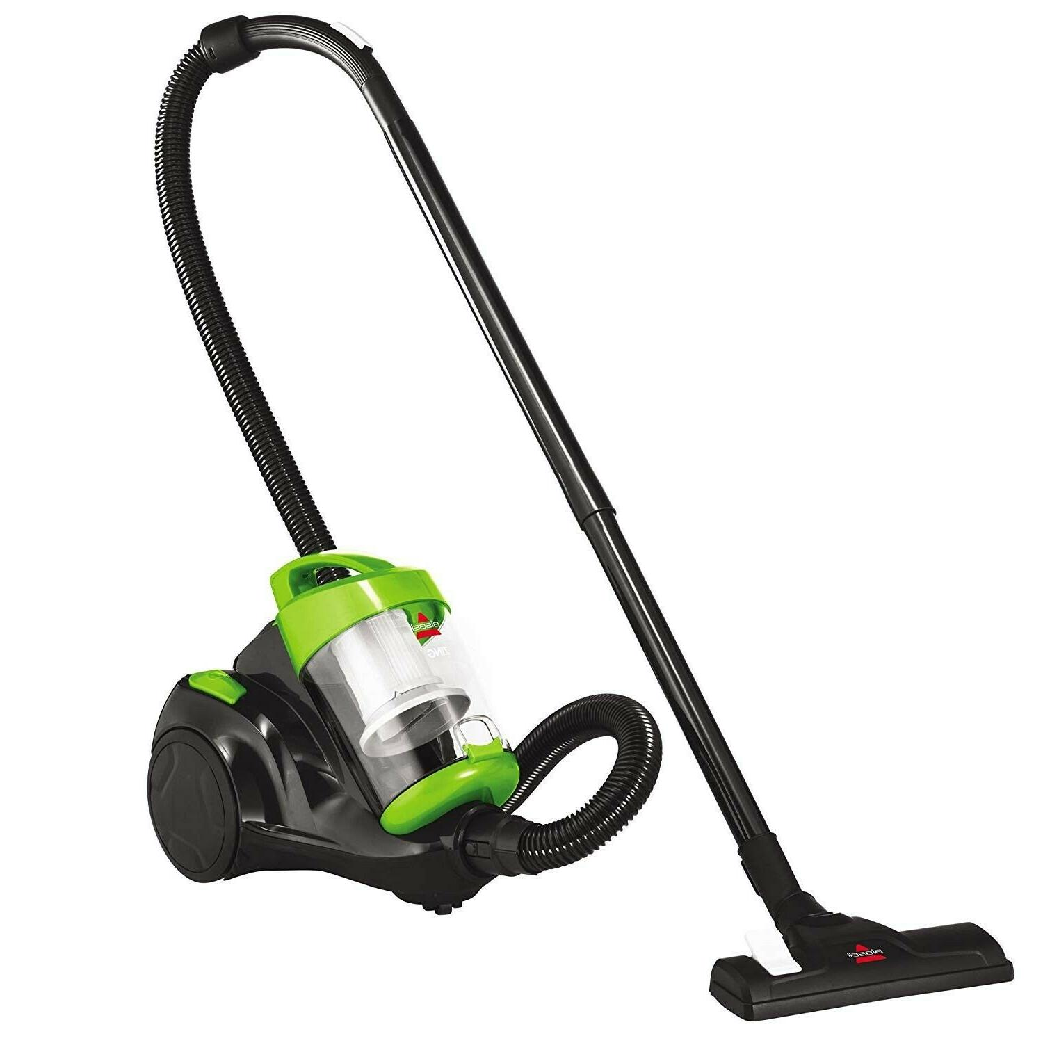green bagless zing canister vacuum cleaner
