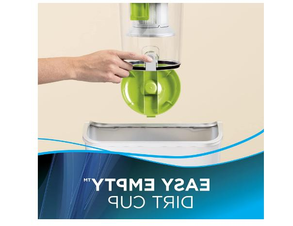 Hard Floor Cleaner 2156A Green Bissell Zing Canister