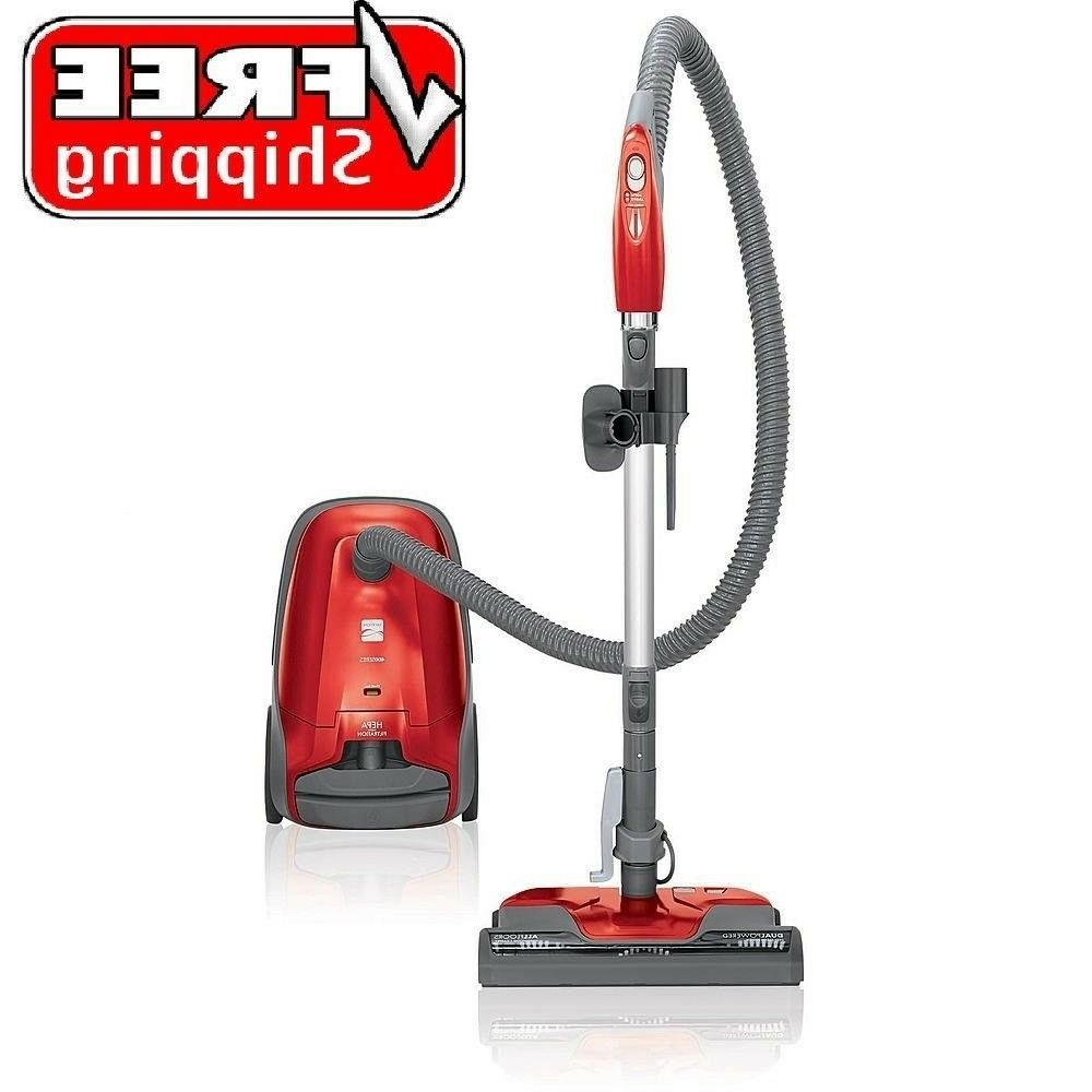 hepa bagged compact canister vacuum cleaner