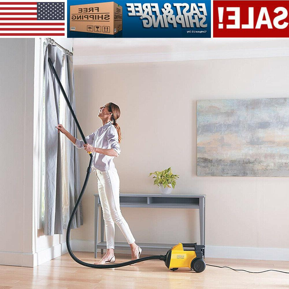 lightweight and mighty corded canister vacuum cleaner