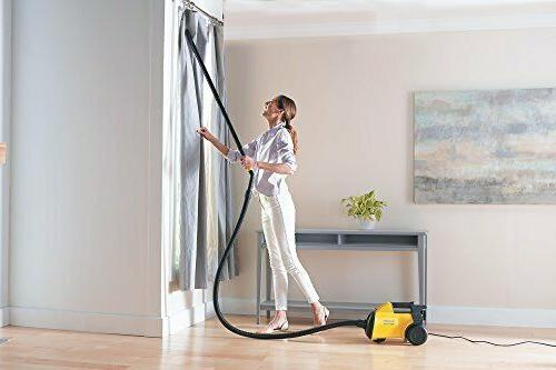 Eureka 3670 Corded Canister Ordinary, Yellow