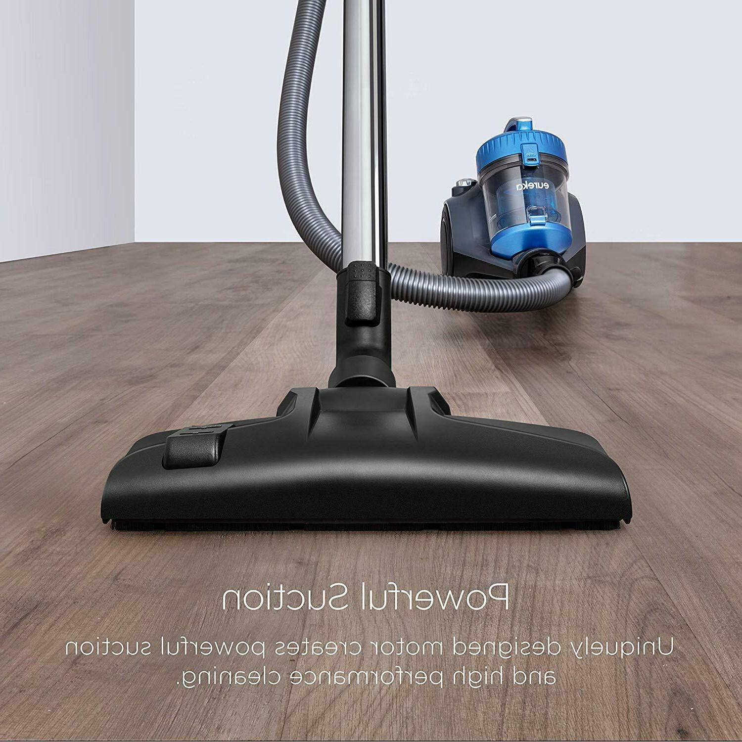 Eureka NEN110A Bagless Canister Vacuum Cleaner - Free