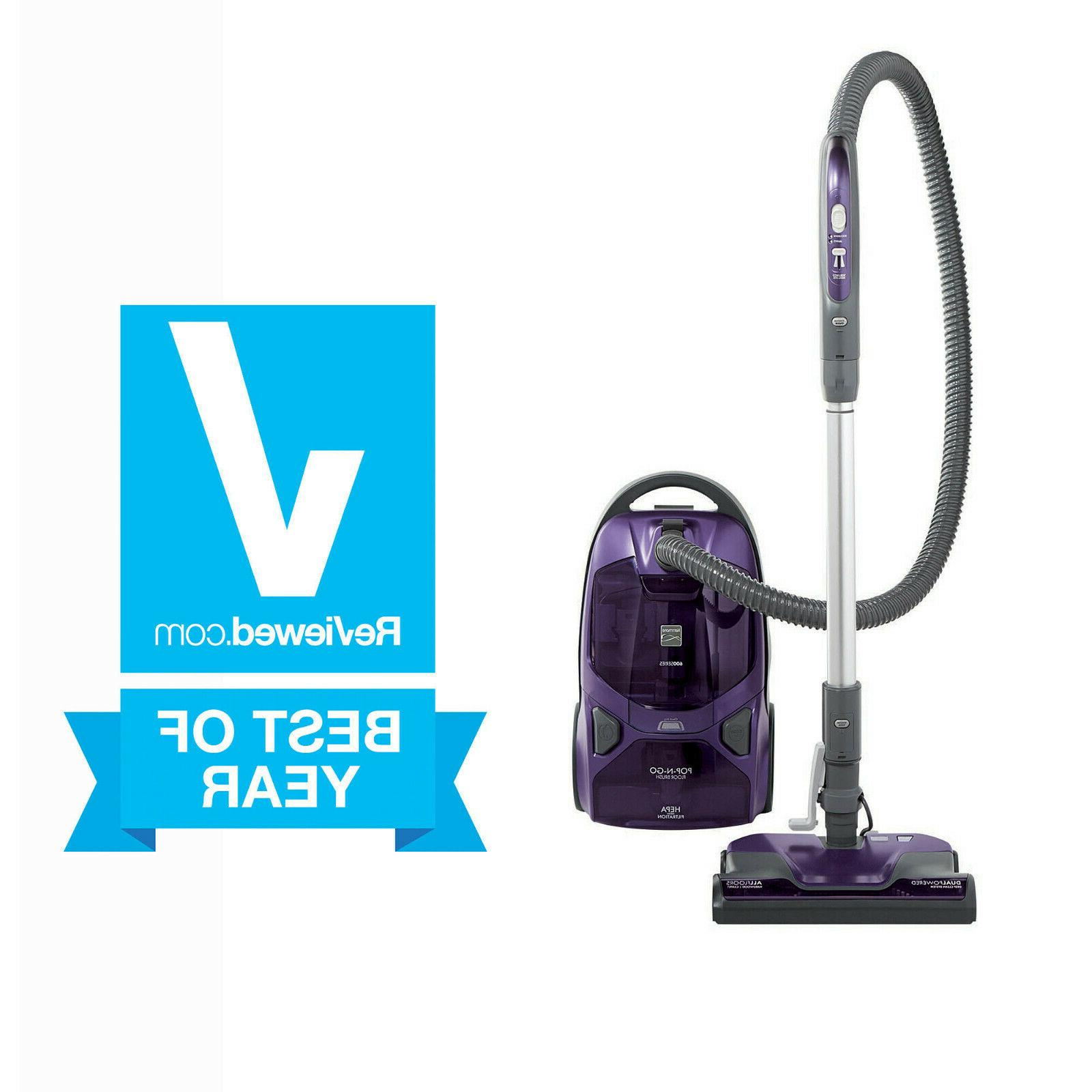 new 600 series bagged canister vacuum w