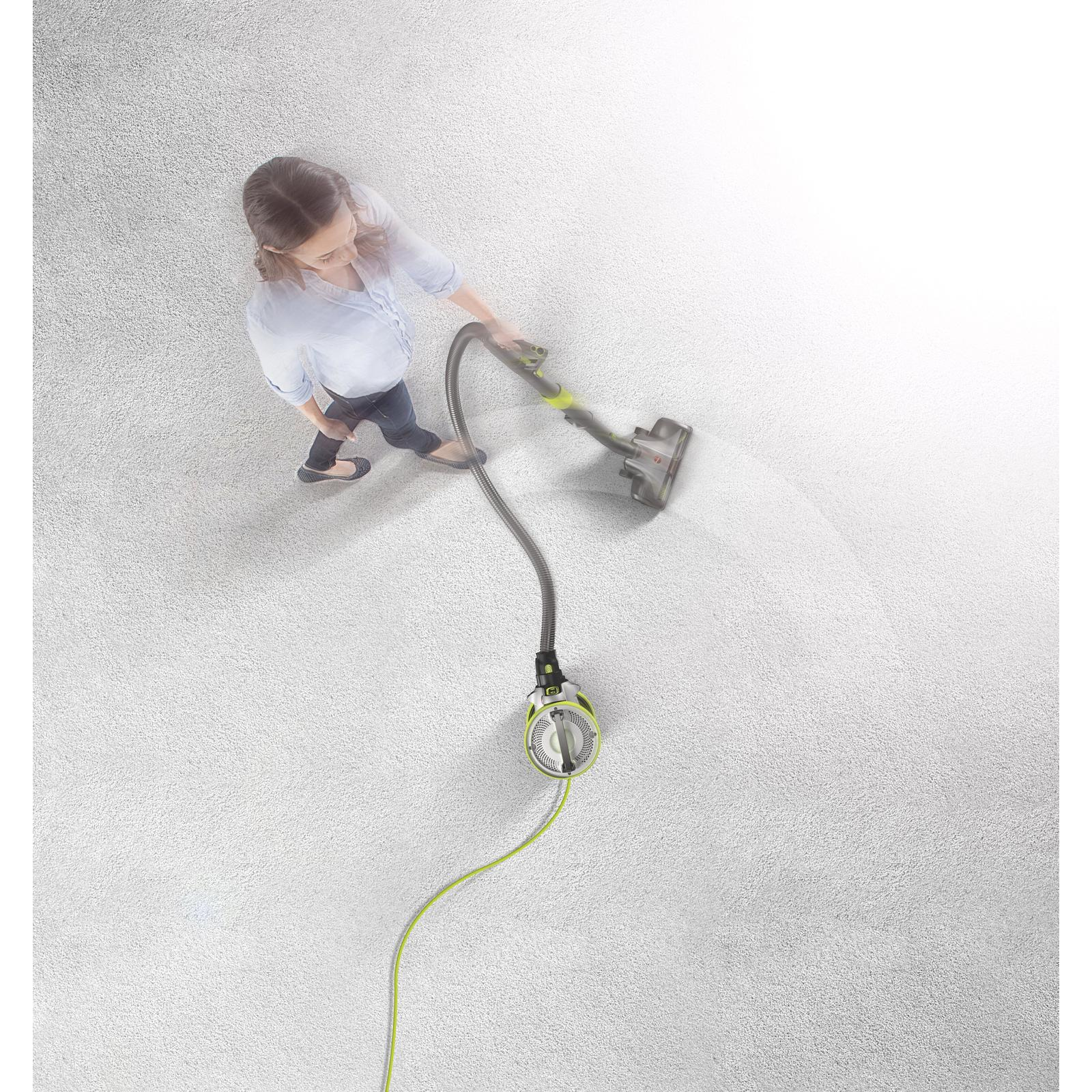 New Hoover Revolve Multi Position Bagless Corded Canister