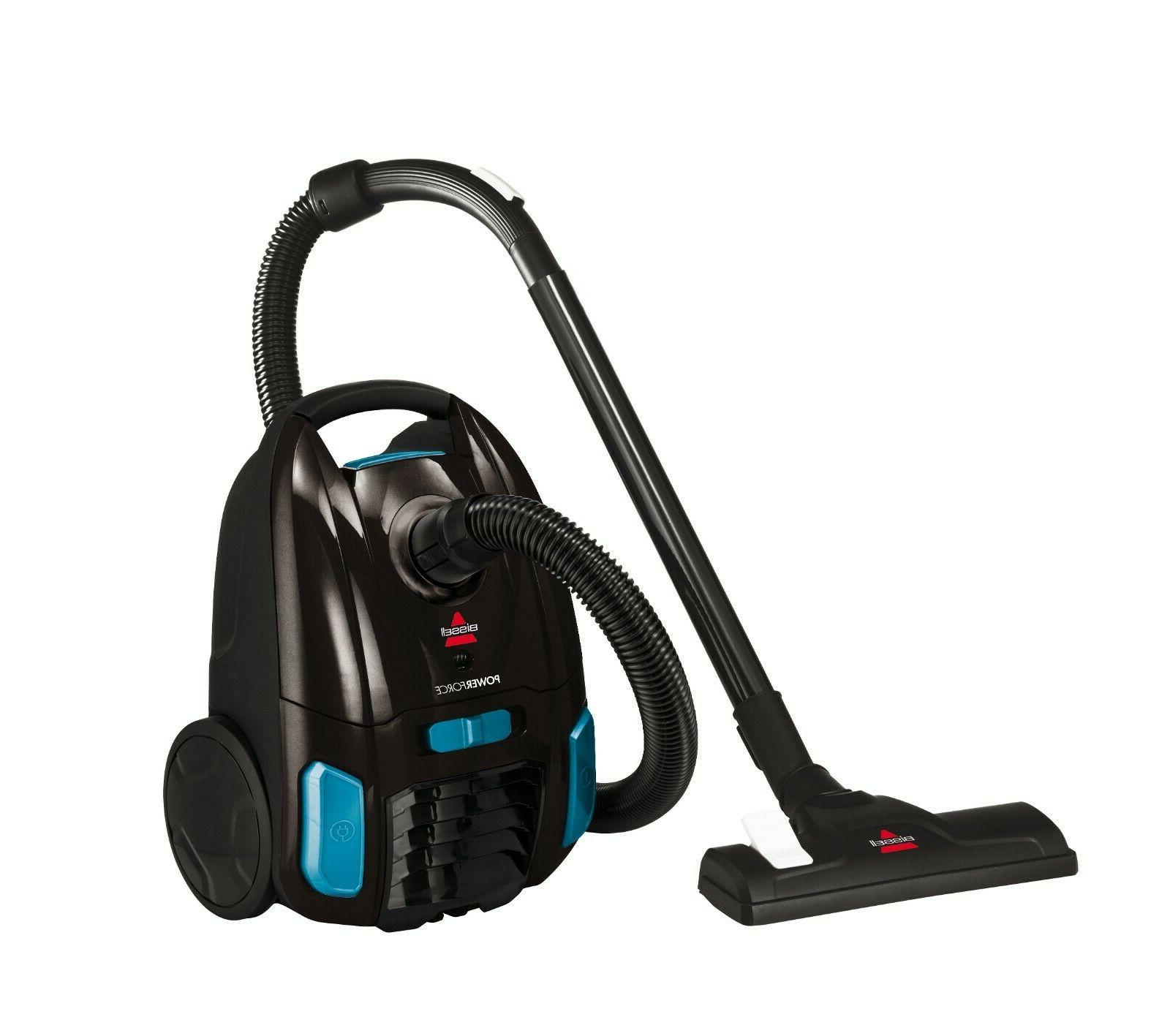 BISSELL PowerForce Bagged Canister Vacuum,