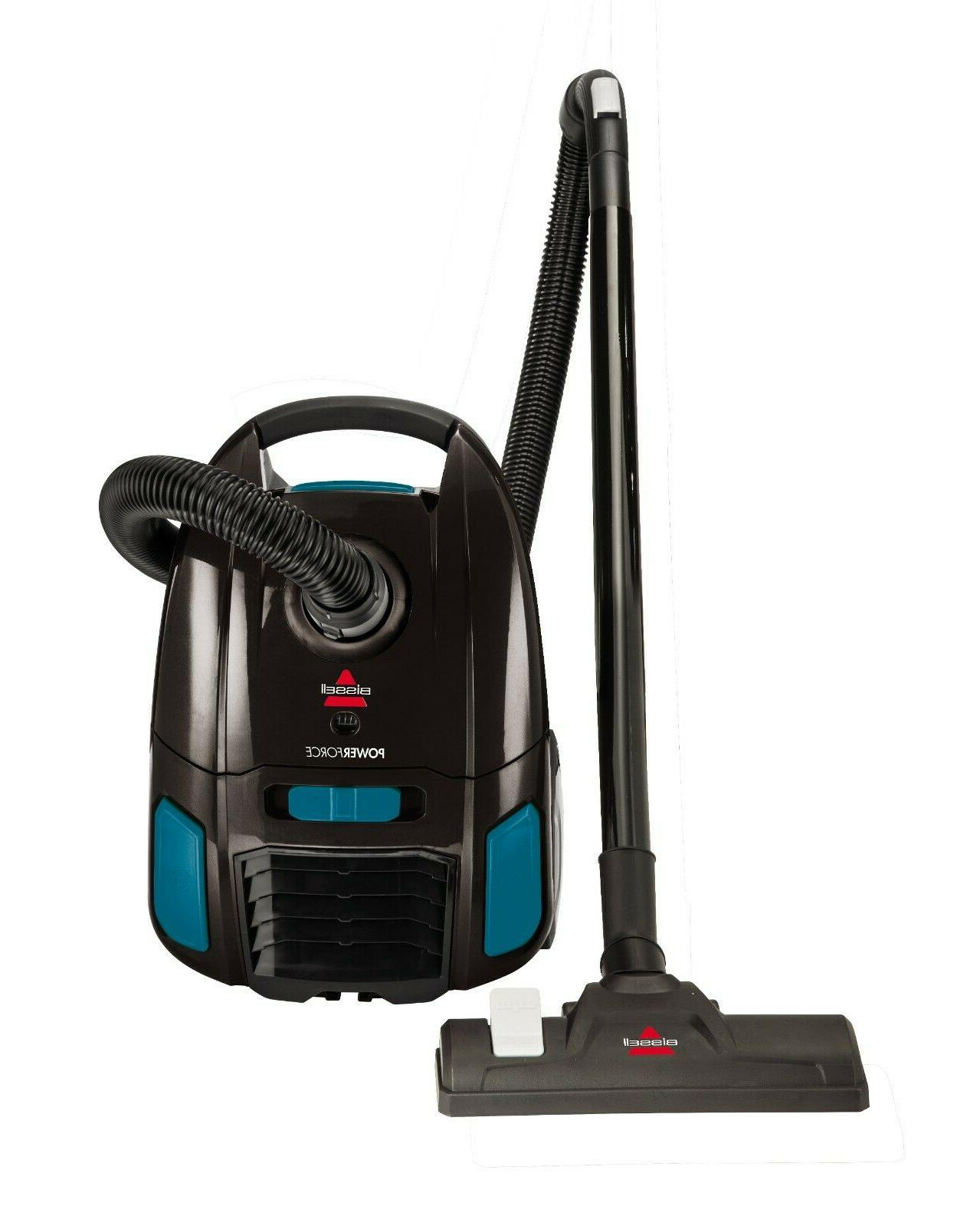 powerforce bagged canister vacuum 2154w
