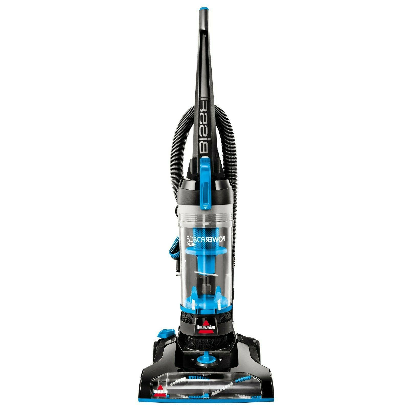BISSELL PowerForce Helix Blue Upright Vacuum Cleaner