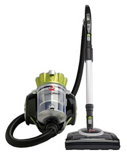 powergroom multicyclonic bagless canister vacuum corded 1654