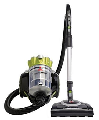 powergroom multicyclonic bagless canister vacuum corded