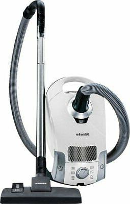 pure suction canister vacuum lotus white
