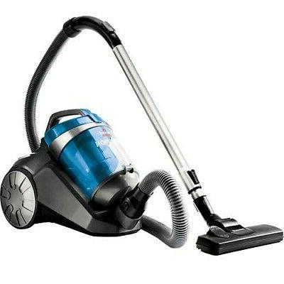 revolution bagless canister vacuum blue cyclonic action